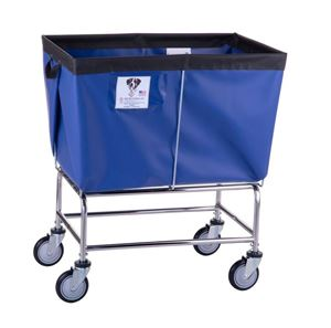 6 Bushel Elevated Laundry Basket Cart