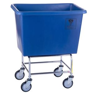 6 Bushel Elevated Laundry Cart w/ Poly Tub