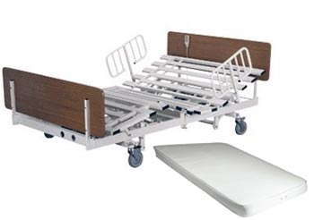 48in Bariatric Heavy Duty Hospital Bed Package - 800lbs