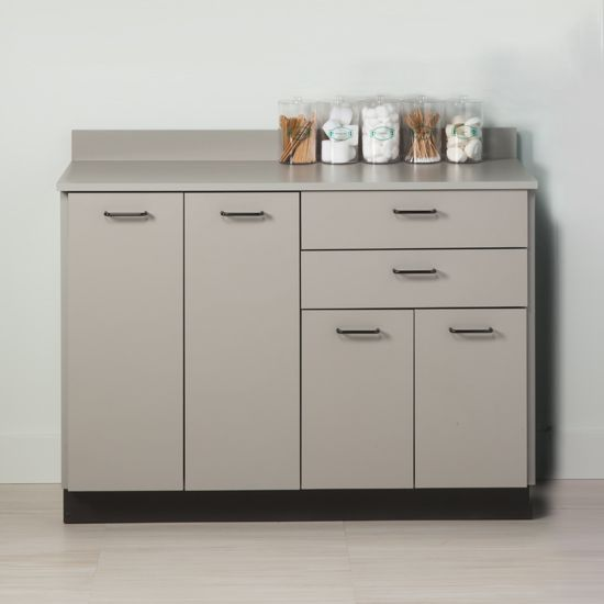 48in L Base Cabinet w/ 4 Doors and 2 Drawers