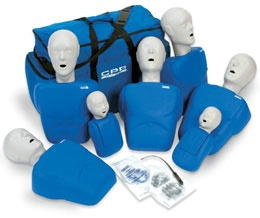 5 Adult  2 Child CPR Training Manikins Set