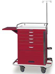 5-Drawer Tall Emergency Cart Specialty Package