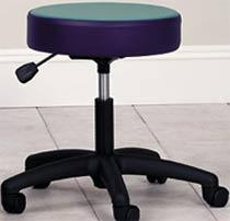 5-Leg Pneumatic Stool w/ Multi-Color Top