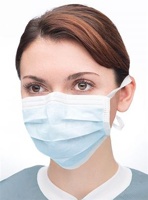 Ultra-3-in-1 sensitive tie-on mask