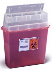 5QT  Wall-Mount Sharps Containers