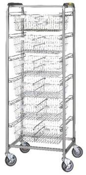 6 Basket Resident Item Cart