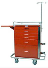 Tall Emergency Cart Specialty Package
