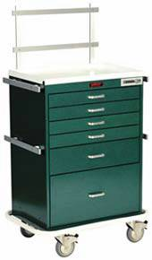6 Drawer Workstation Cart Specialty Package
