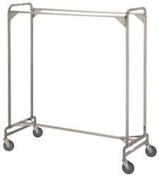 60in Double Pole Garment Rack