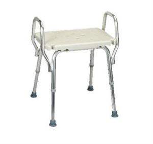 Shower Chair With Molded Seat and Arms