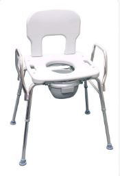 Bariatric Commode w/ Raised Toilet Seat