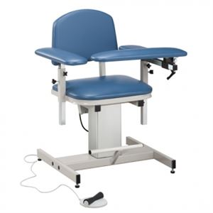 Power Blood Drawing Chair Padded Arms
