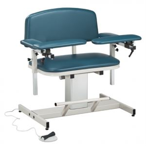 Bariatric Power Blood Drawing Chair Padded Arms
