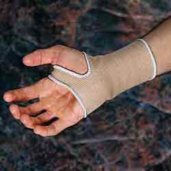 6in. Slip-on Wrist Compression