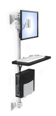 Computer Wall Mount Pole