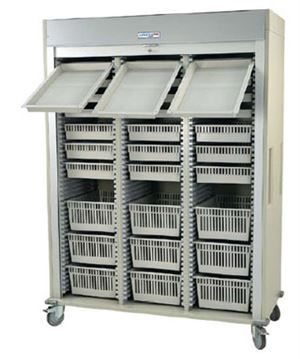 Triple Column Arthroscopy Cart Tambour Door