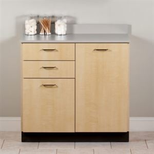 36in Base Cabinet 2 Doors and 2 Drawers