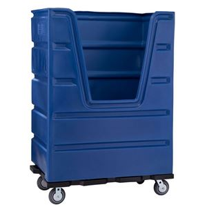 48 Cubic Ft. Bulk Transport Linen Cart