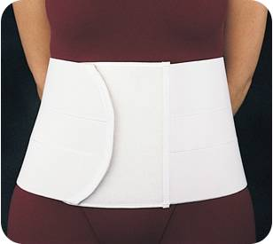 8in Elastic Lumbar Sacral Support with Pocket
