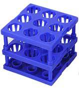 Lab Tube Cube Rack 9-Place