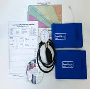 ABI Kit w/ Aneroid, 2 Cuffs, Forms, Chart