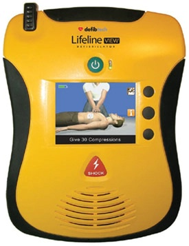 AED Visual Display Defibrillator w/ Standard Pkge