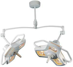 Major Surgery Double Ceiling Mount Light