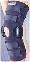 Long Flexible Knee Brace