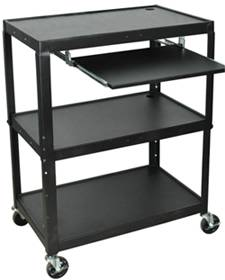 Adjustable Height Steel Workstation