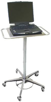 Adjustable Height Laptop Rolling Stand