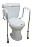 Adjustable Toilet Safety Frame