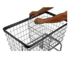 Adjustable and Removable Divider for Basket