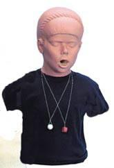 Adolescent Choking Training Torso