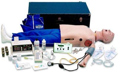 Adult ACLS Manikin w/ Interactive Arrhythmia Simulator
