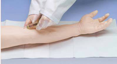 Advanced Venipuncture and Injection Arm, White