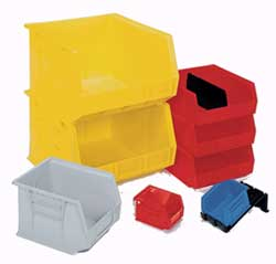 Akro Bins 10 3/4 in. L x 8 1/4 in. & Storage Containers By Akro Bins! Strong Durable Plastic Storage Bin ...