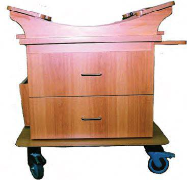 Two Drawer Maternity Bassinet