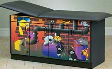 Alley Cats & Dogs Pediatric Exam Table