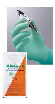 Thin Surgical Gloves Aloe Vera