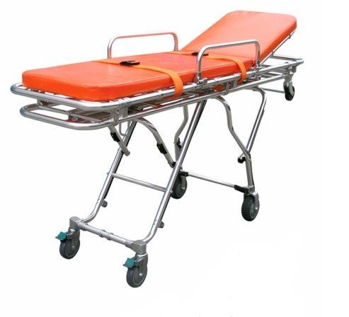 Multi Height Aluminum Alloy EMS Emergency Stretcher