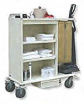 Aluminum Housekeeping Cleaning Cart
