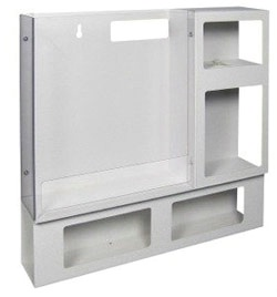Aluminum Isolation Organizer Wide