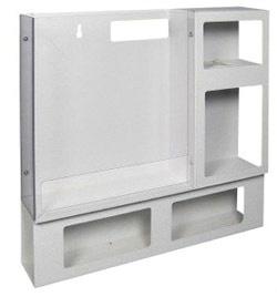 Aluminum Isolation Organizer, Wide
