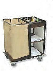 Aluminum Janitorial Cleaning Cart