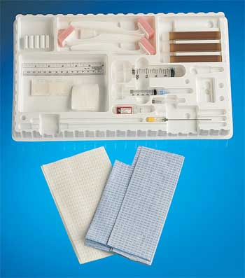 Amniocentesis Tray