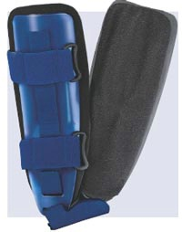 Universal Ankle Stirrup Brace with Gel Foam