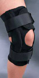 Anterior Closure Hinged Knee Support