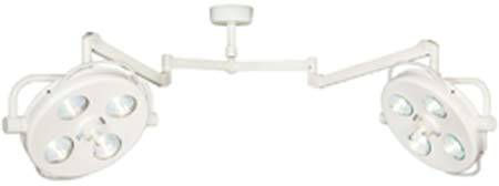 Apex Double Ceiling Mount Surgical Light