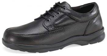 Leather Lace-Up Diabetic Shoes