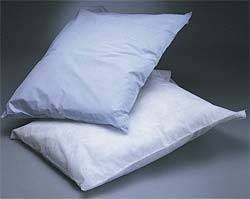 Blue Disposable Pillow Covers 21in 30n